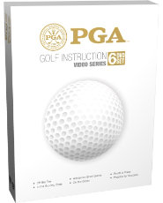 PGA Golf Instruction Video Series - set of 6