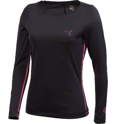 PUMA Women's Monoline Long Sleeve T-Shirt