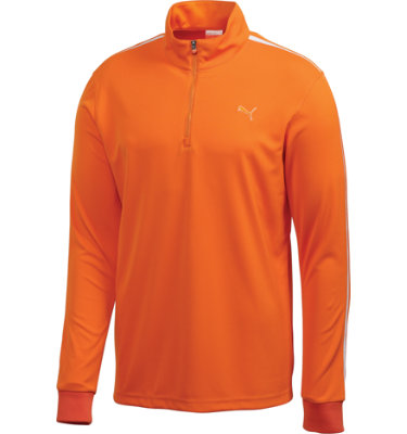 PUMA Men's 1/4 Zip Long Sleeve Pullover