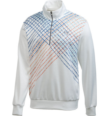 PUMA Men's Argyle Long Sleeve Popover