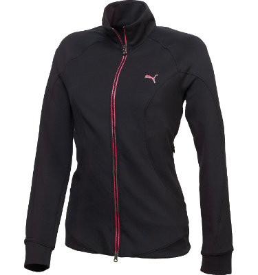 PUMA Women's Golf Slim Long Sleeve Track Jacket