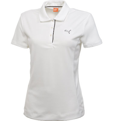 PUMA Women's Tech Short Sleeve Polo
