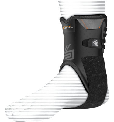 Shock Doctor Ankle Stabilizer with Flexible Support Stays