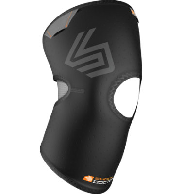 Shock Doctor Knee Compression Sleeve with Open Pat
