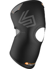 Shock Doctor Knee Compression Sleeve with Open Patella Coverage
