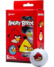 Srixon Angry Birds Golf Balls - 6 pack