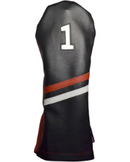 Stitch Golf Victory Stripe Driver Headcover - Black/Red