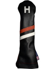 Stitch Golf Victory Stripe Hybrid Headcover - Black/Red