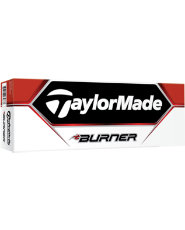 TaylorMade Burner Golf Balls - 12 pack