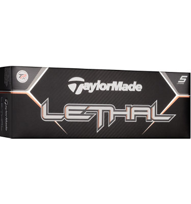 TaylorMade Lethal High Numbers Golf Balls - 12 pack