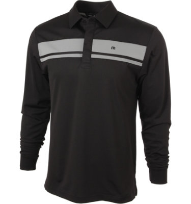 Travis Mathew Men's Long Timer Long Sleeve Polo