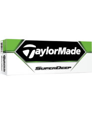 TaylorMade SuperDeep Golf Balls - 12 pack