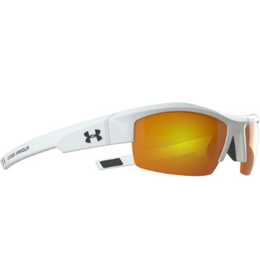 Under Armour Igniter Sunglasses with Orange Multiflection - White