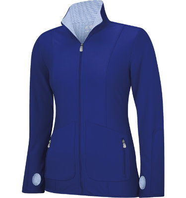 adidas Women's ClimaLite Textured Knit Jacket