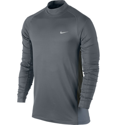 Tiger Woods Collection Men's TW Mock Long Sleeve Cover-Up