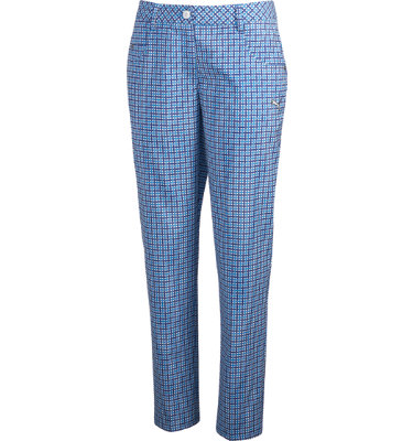 PUMA Women's Plaid Fashion Pant