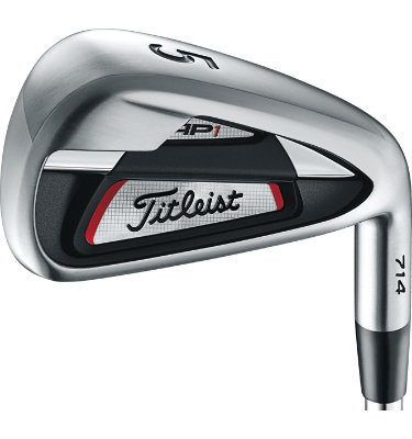 Titleist Men's AP1 714 Irons - (Steel) 4-AW