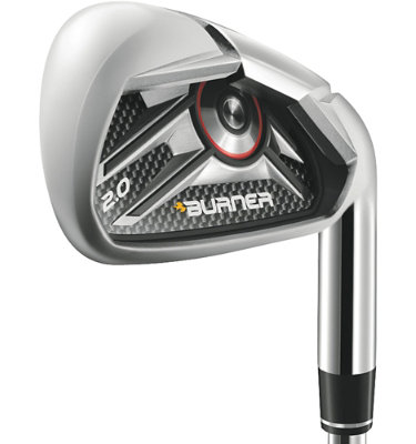 TaylorMade Men's Burner 2.0 HP Irons - (Steel) 4-PW