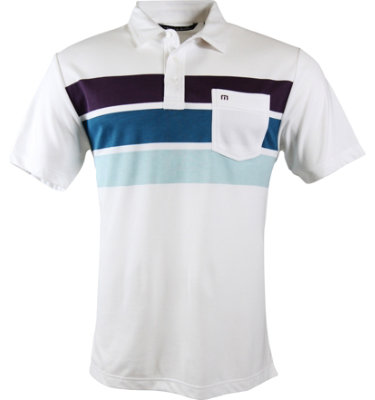 Travis Mathew Men's Bueller Short Sleeve Polo