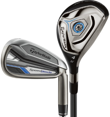 TaylorMade Men's SpeedBlade Senior Hybrid/Irons - (Graphite) 4-5H, 6-AW