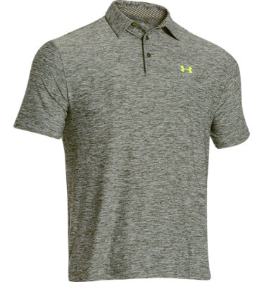 Under Armour Men's Elevated Heather Short Sleeve Polo