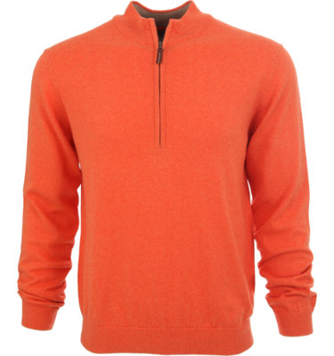 Walter Hagen Men's Vanadium 1/4-Zip Long Sleeve Sweater