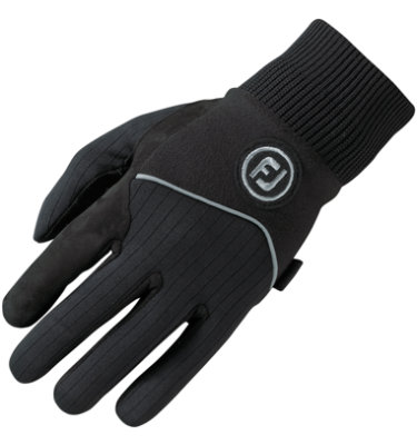 FootJoy Men's WinterSof Golf Glove - Pair - Black