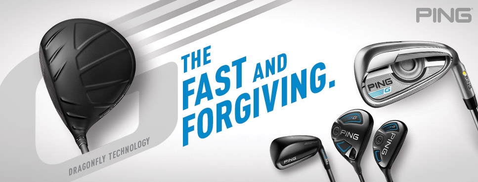 PING G Fast and Forgiving