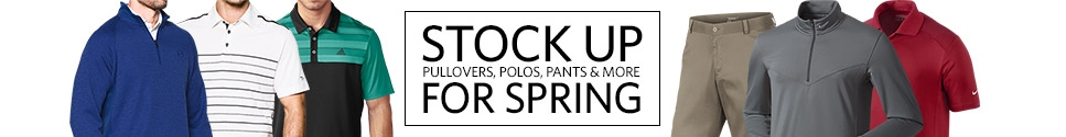 Stock Up for Spring
