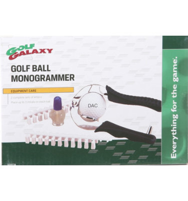 Golf Galaxy Golf Ball Monogrammer