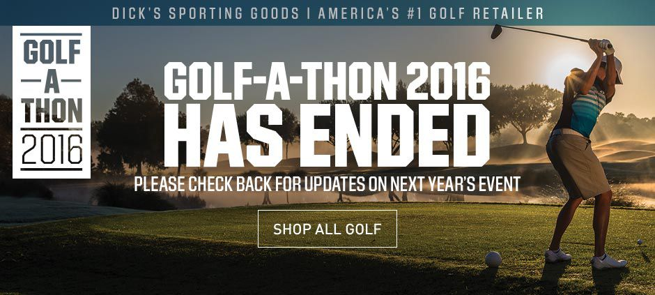 DICK'S Sporting Goods - Golf-A-Thon