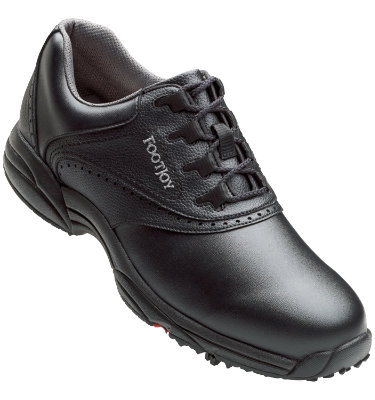 FootJoy Men's GreenJoys Golf Shoes - Black (Disc Style 45449)