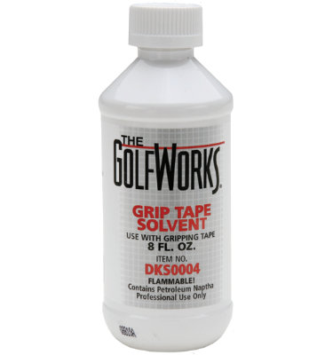 GolfWorks Grip Solvent - 8 oz Bottle