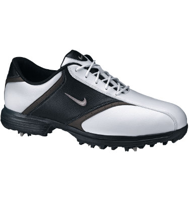 Nike Men's Heritage Golf Shoe - White/Black