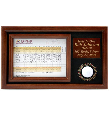 ProActive Sports Hole-In-One Ball Memorable Moments Display