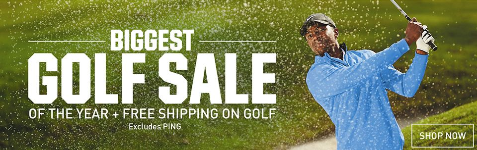 Biggest Golf Sale of the Year