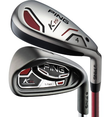 PING Men's K15 Senior Hybrid/Irons - (Graphite) 4H, 5H, 6-SW