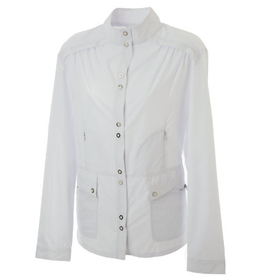 DKNY Women's Button Long Sleeve Jacket
