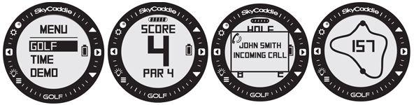 SkyCaddie LINX Golf GPS Watch