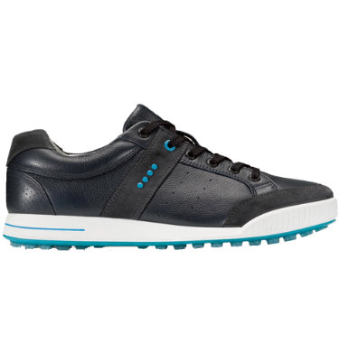 ECCO Men's Street Premiere Golf Shoes - Navy