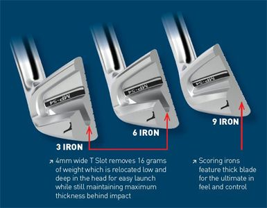 Mizuno Men's MP-54 Irons
