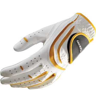 Maxfli Junior Golf Glove - White/ Yellow