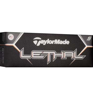 TaylorMade My Number Lethal Golf Balls - 12 pack (Custom)