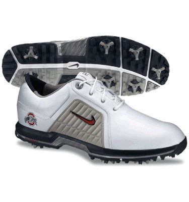 Nike Men's NCAA Ohio State Golf Shoes