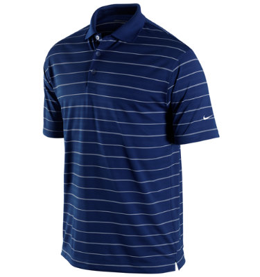 Nike Men's Tech Core Stripe Short Sleeve Polo
