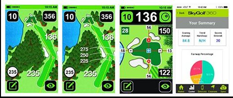 SkyCaddie TOUCH Golf GPS