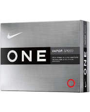Nike ONE Vapor Speed Golf Balls - 12 pack