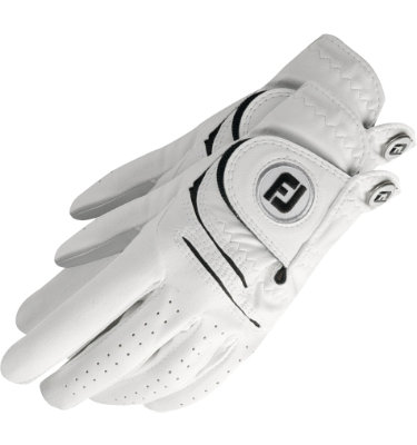 FootJoy Men's WeatherSof 2-Pack Golf Glove - White