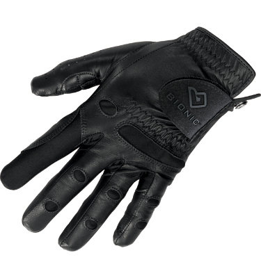 Bionic Men's StableGrip Golf Glove - Black