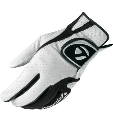 TaylorMade Men's Targa Golf Glove - White/ Black